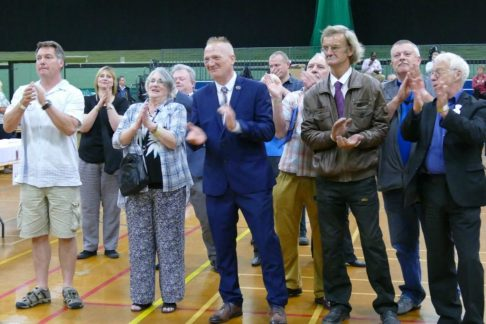 Eastleigh Ukip members greet news of out vote