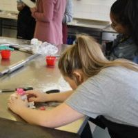 School pupils brush up on their employability skills