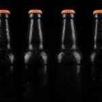 071093671 chilled beer bottles black bac