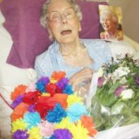 Care Home resident celebrates 100th birthday