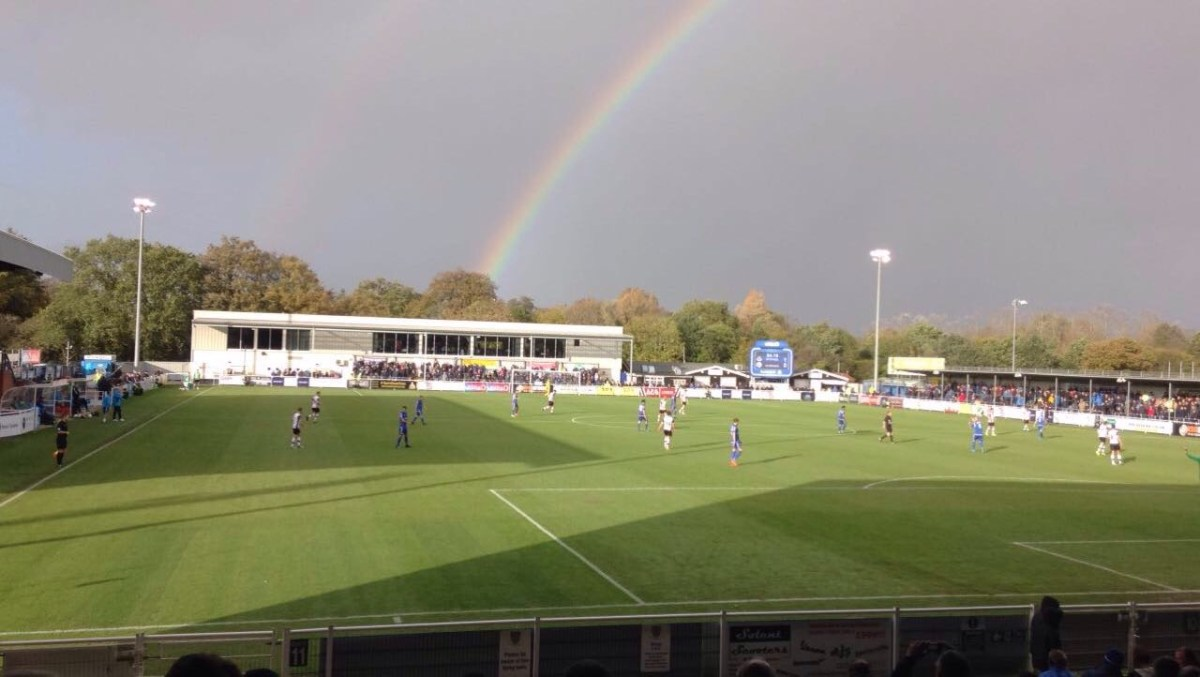 Strevens' last minute goal earns Eastleigh victory at home to Gateshead