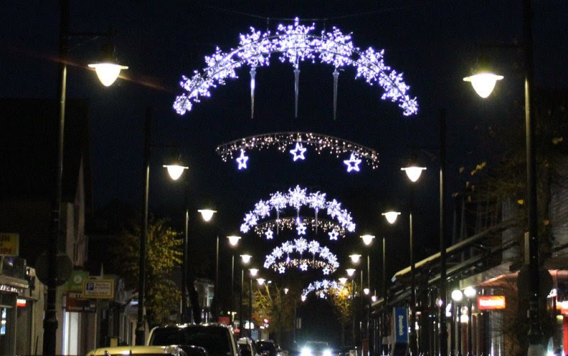 Lights switch-on kicks off Christmas countdown