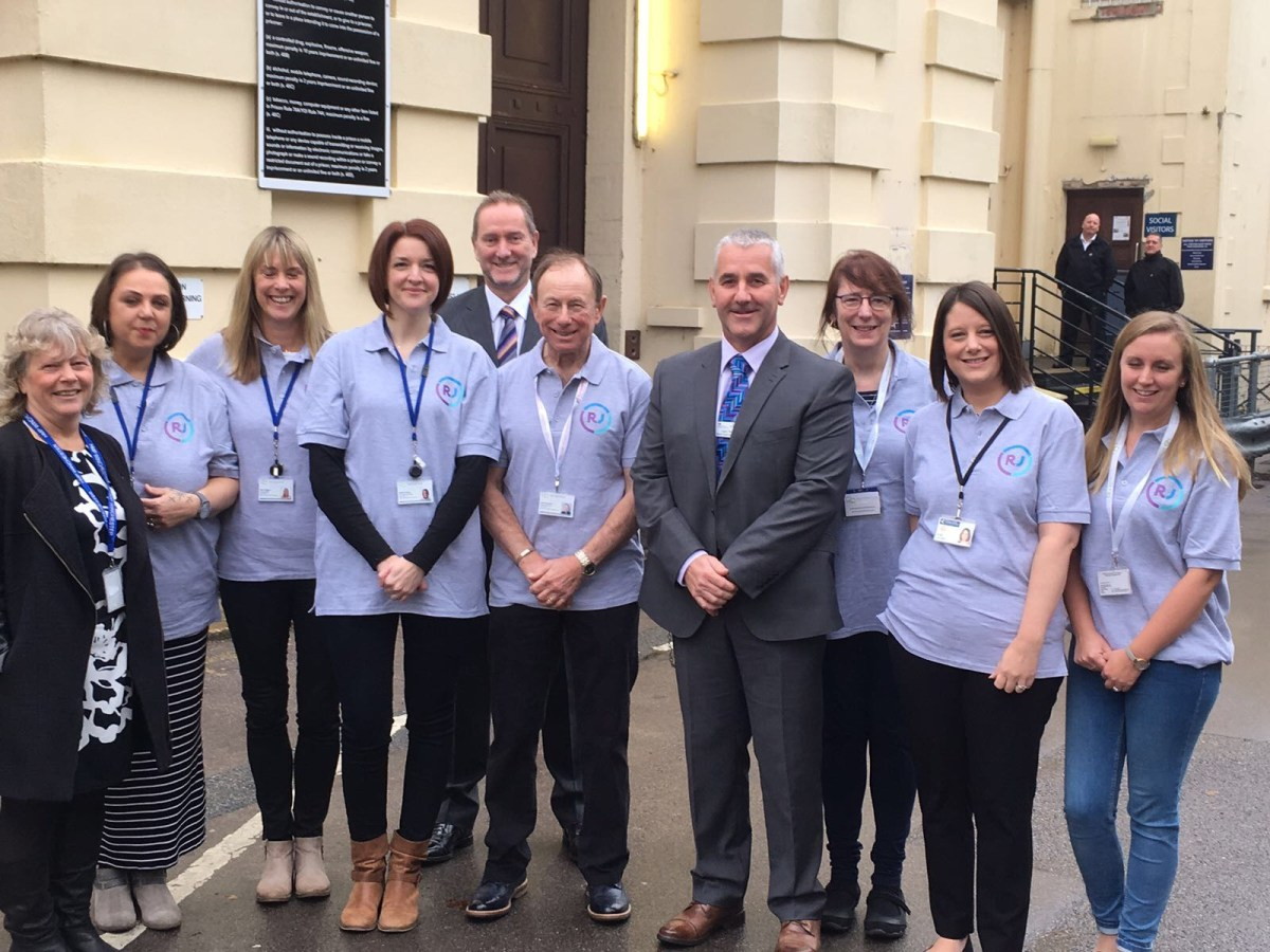 Commissioner and Winchester Prison join forces in Restorative Justice Week