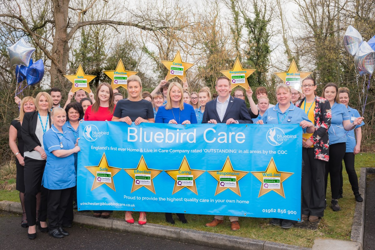 Eastleigh home care provider is 'England's best'