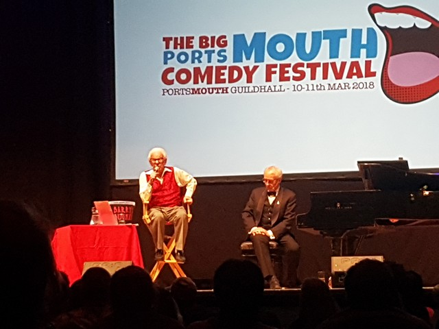 Barry Cryer and Colin Cell