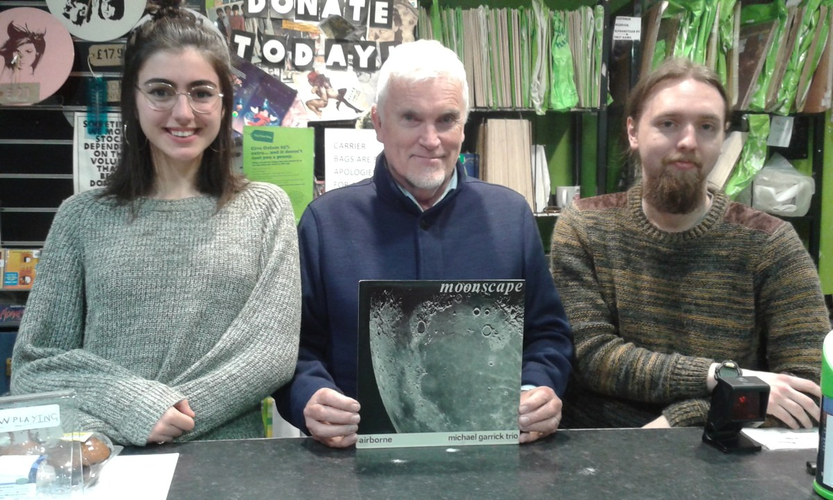 Oxfam Southampton breaks shop record for LP sale