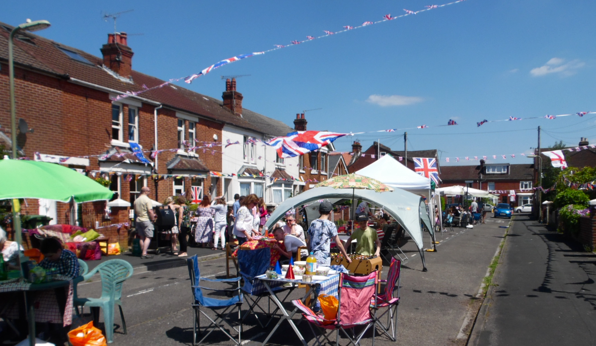 Street party shows 'The best side of Eastleigh'