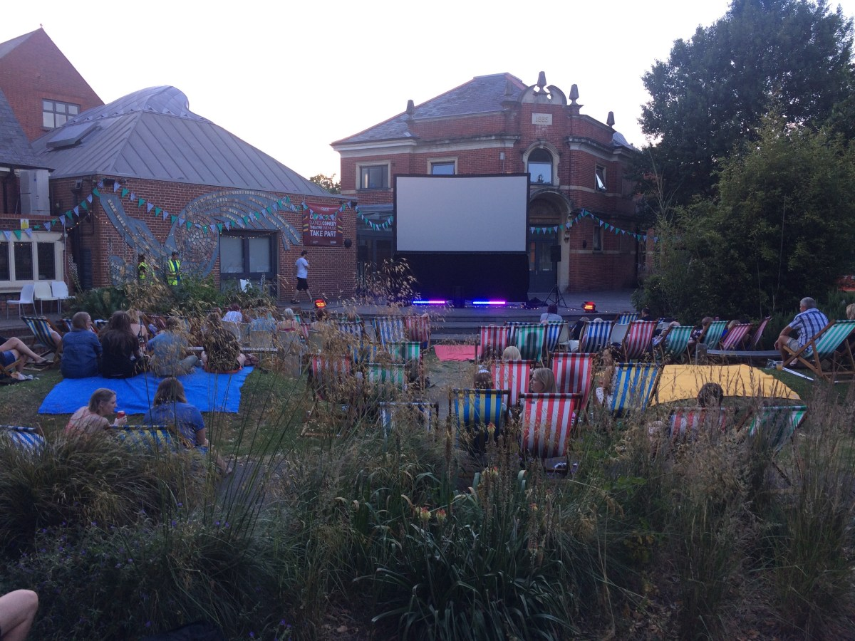 Outdoor Cinema comes The Point