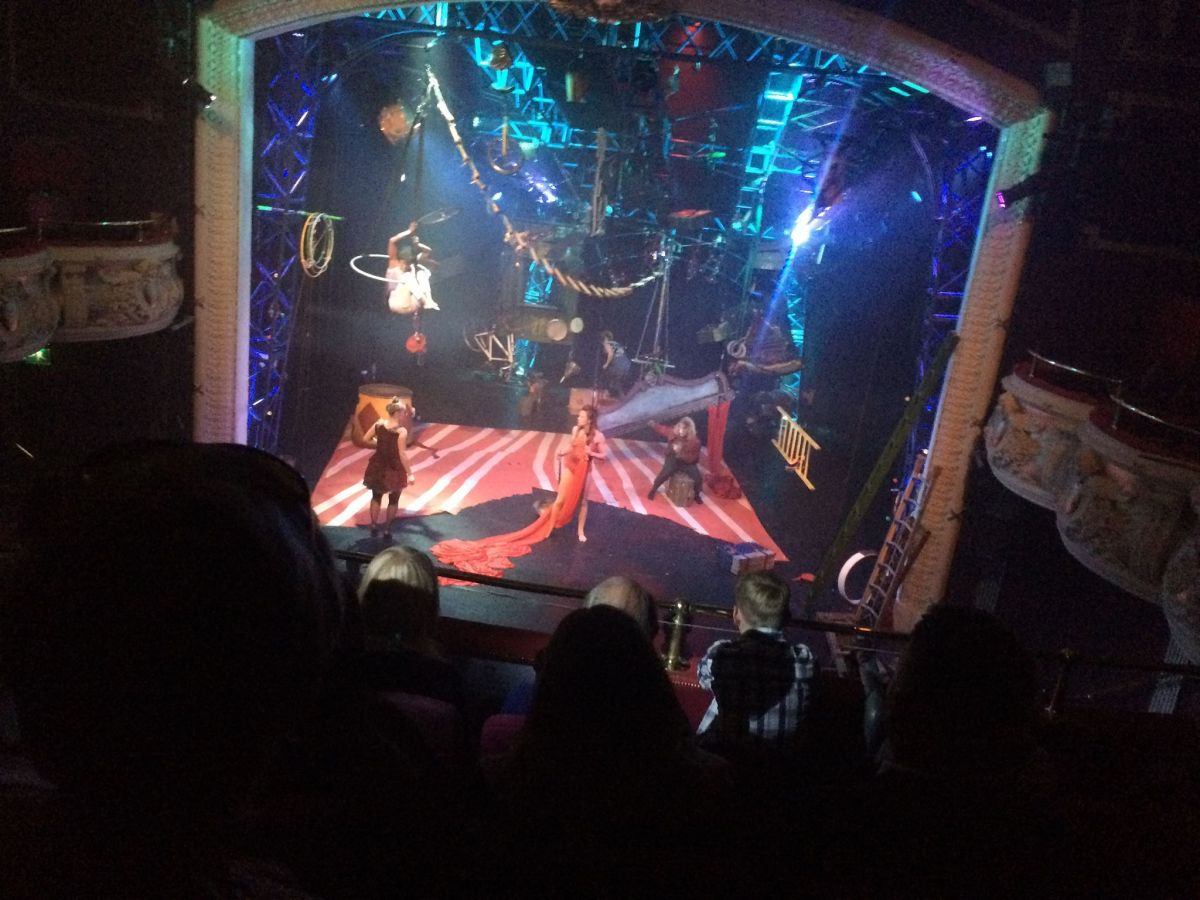 Live Review: Mimbre's The Exploded Circus at Winchester Theatre Royal
