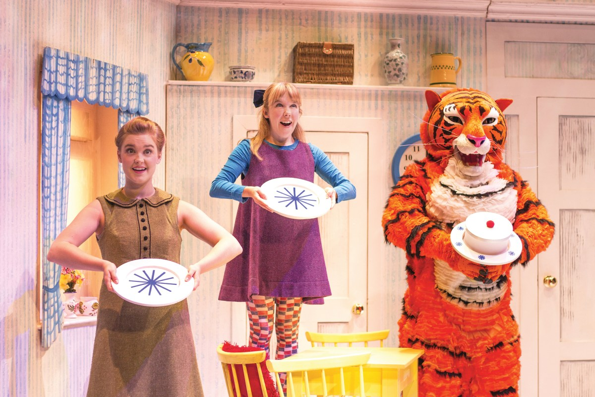 See West End hit The Tiger Who Came to Tea at The Point this autumn