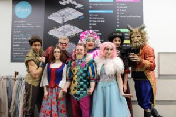 The Cast of Beauty and the Beast head to The Brooks Shopping Centre