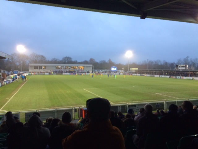 Eastleigh beat Sutton United at home