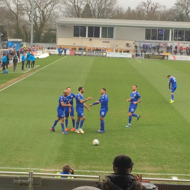 Eastleigh hold on for 2-1 win at home to Braintree