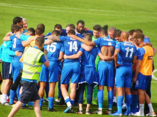 Eastleigh secure play-offs spot with 2-0 win at home to Maidenhead
