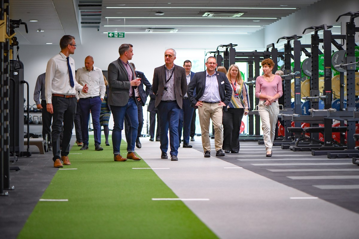 Solent Uni sports complex marks completion