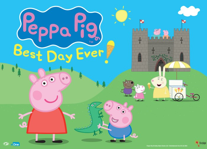 Peppa pig best day ever wallpaper