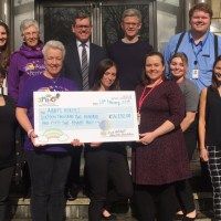 Abby's Heroes received over £16,000 in donation