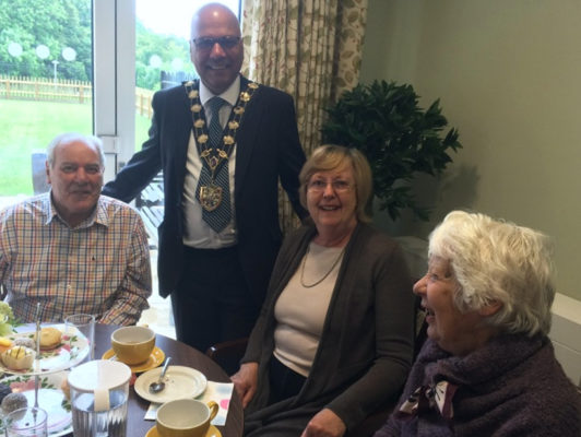 Carers and Mayor