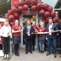 Mayor cuts ribbon on refurbished Costa
