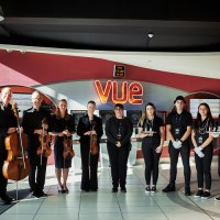 A quartet suitable for a Queen at Vue Eastleigh