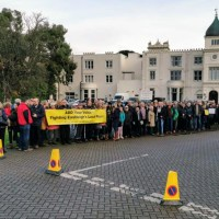 Hundreds protest at Local Plan hearing