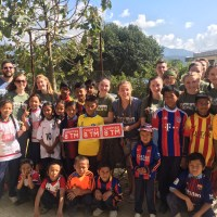 Barton Peveril Students Volunteer in Nepal