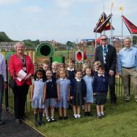 New play area finally opens at Boorley Park