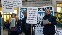Protesters, Hackney