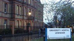 Lewisham Hospital. Photo: Clare Finney