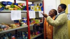 Food bank volunteers. Photo: Adriane Scott-Kemp
