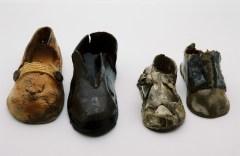 Ceramic Shoes by Jenny Stolzenberg Photo: Marion Davies