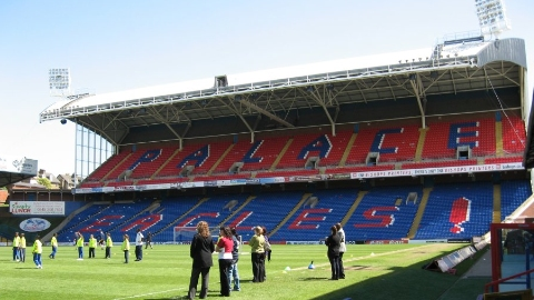 Chamakh has signed a two year contract entension to stay at Selhurst Park Pic: Chris Dodd