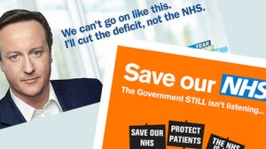 Posters on the NHS
