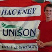 Matthew Waterfall from Hackney Unison