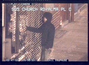 Croydon suspect, image 13. Pic: Met Police