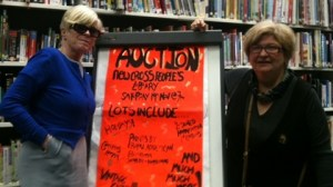 new cross people's library holds charity auction