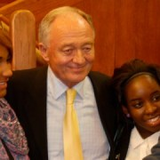 Ken Livingstone at Goldsmiths, Lewisham by Helen Crane