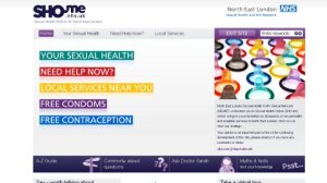 The SHO-me website: Sexual Health Online for North East London