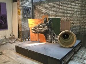 Roa in Pure Evil Gallery. Pic: Sasha Filimonov