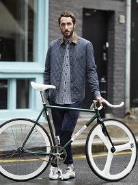H&M for Brick Lane Bikes. Pic: H&M.
