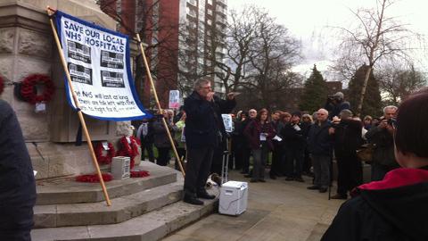 Mayor Steve Bullock pic: Heather Saul