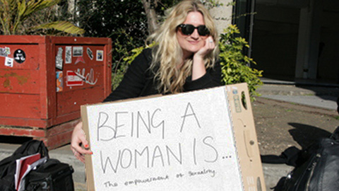 Being a woman is: The empowerment of serenity. Pic: Emma Rumney