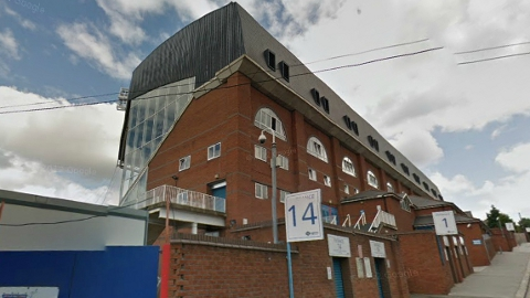 Crystal Palace FC stadium of Selhurst Park off Holmesdale Road. Pic: Google