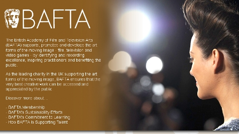 Winning film to be announced at BAFTA HQ in July. Pic: Bafta
