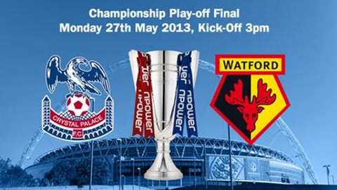 Crystal Palace all tickets for Wembley sold. Pic: CPFC