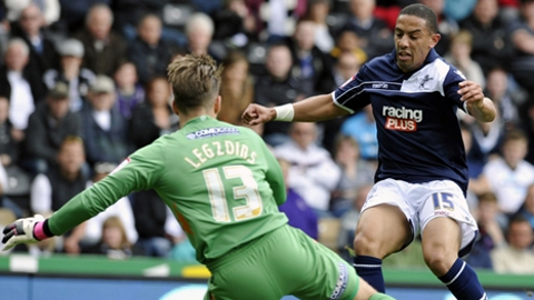 Millwall lose away to Derby and avoid regulation when teams around them also lose. Pic: Millwall FC website