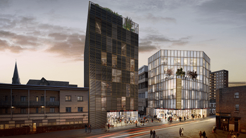 This is what the Hackney Fashion Hub could look like