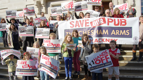 Pic: Save The Chesham campaign