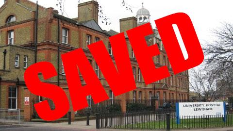 Lewisham Hospital Saved