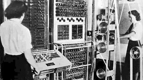 The Colossus codebreaking computer. Pic: The National Archives